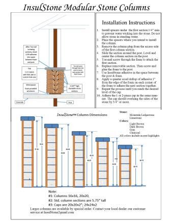 Column Brochure 2016 Back Page