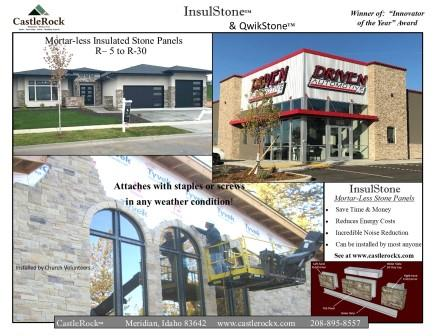 InsulStone Brochure 2020 Front Page Compressed