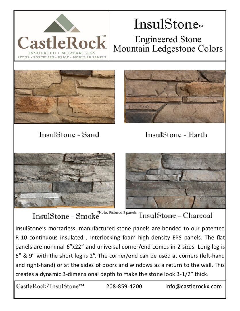 Mountain Ledgestone Color